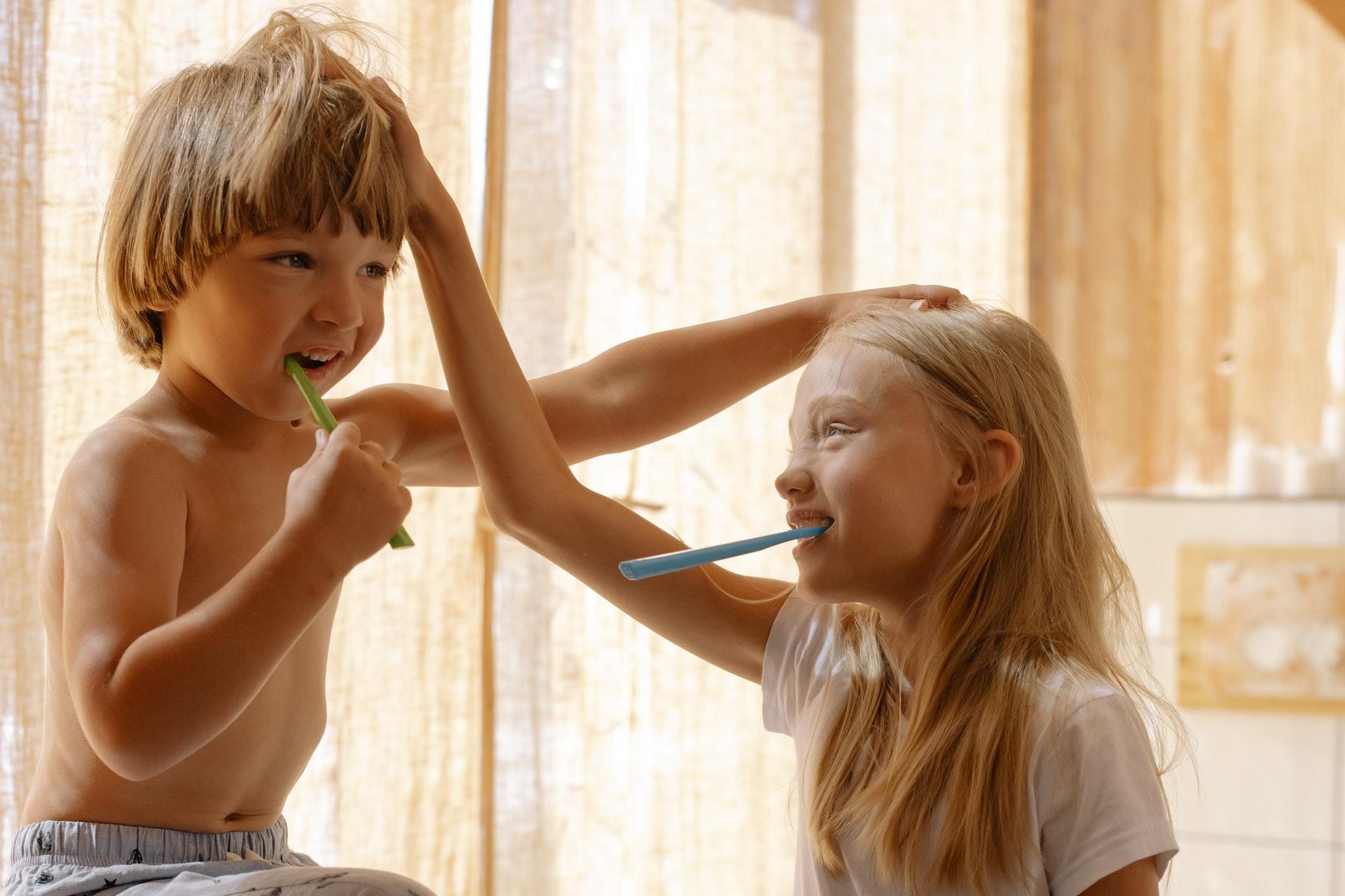 tanden poetsen kinderen